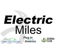 Electric Miles sign
